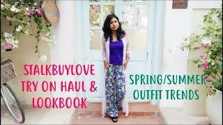 Stalkbuylove Try On Haul - Summer Outfits Ideas India & Floral Lookbook | AdityIyer
