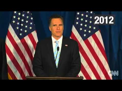 The Donald Trump vs Mitt Romney fight in 60 seconds