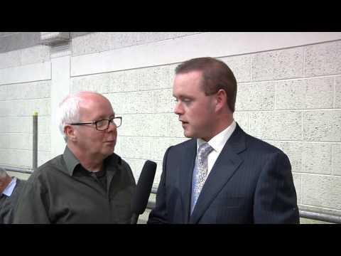 John Paul Feeley FF talks to Paul Cox on Cavan Television