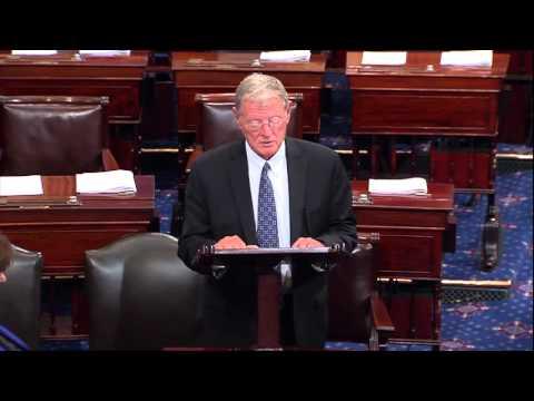 Inhofe discusses Pilot's Bill of Rights 2 on the Senate Floor