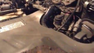 ремонт тойота таун эйс 1992 года выпуска.88 лс  турбодизель 2 литра (1) подчасть