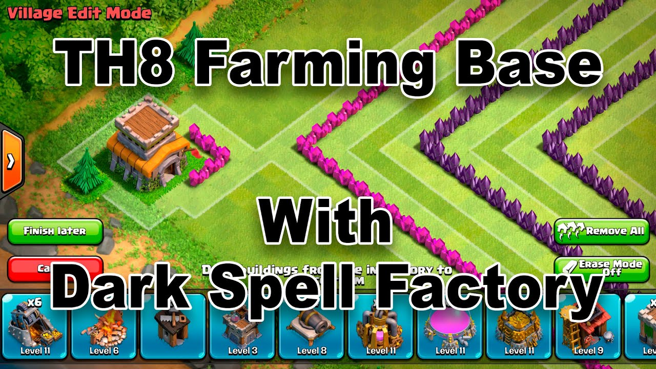 clash of clans spell factory - photo #37