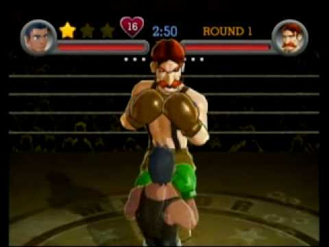 Punch-Out!! Wii - Von Kaiser Defeated With 5 Punches