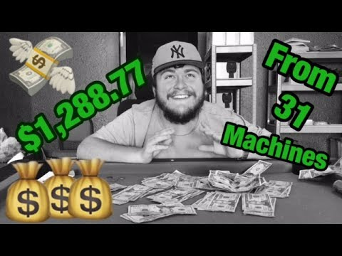 Passive Income With Vending Business: Over $1,250 Collected | VendingNation 041