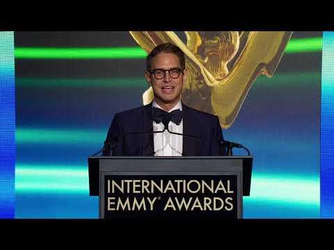 2018 International Emmy® Founders Award Recipient Greg Berlanti
