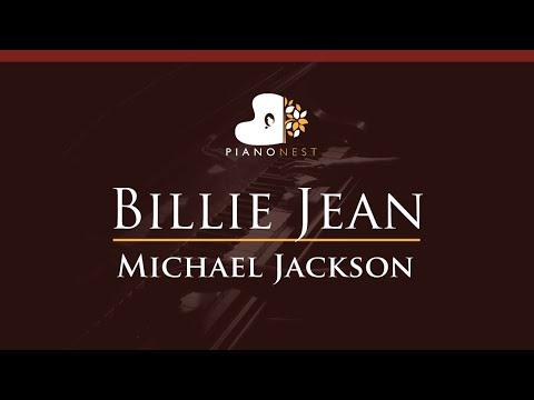 Michael Jackson - Billie Jean - HIGHER Key (Piano Karaoke Instrumental)