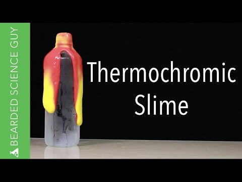 Make Thermochromic Color Changing Slime (Chemistry)