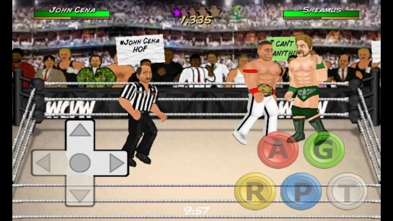 เล่นเกม booking revolution 2D mod WWE
