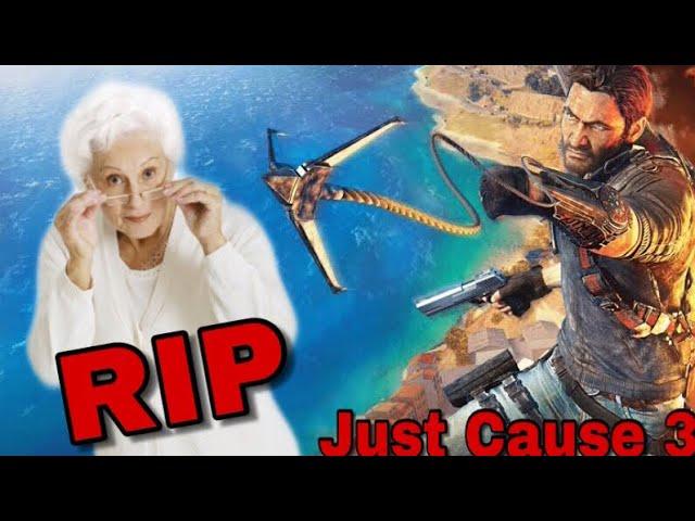 Eu matei uma senhora!:Just Cause 3