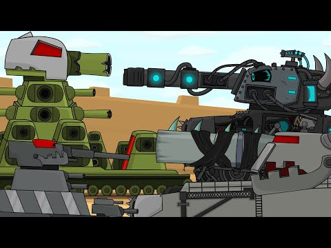 Топ 5 Битва монстров, Мультики про танки