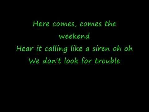 here-comes-the-weekend-lyric-vid