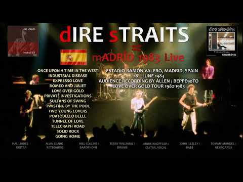 Dire Straits - 1983 - LIVE in Madrid [AUDIO only, NEW vers]
