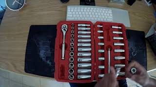 TEKTON SOCKET SET 45 PIECE 3/8