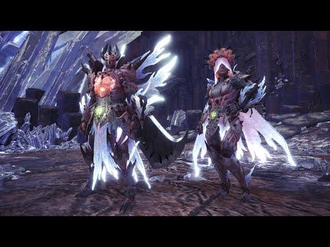 Monster Hunter: World - Arch Tempered Xeno'jiiva SLAIN! + New Gamma Armour! (Healer SnS Build) thumbnail