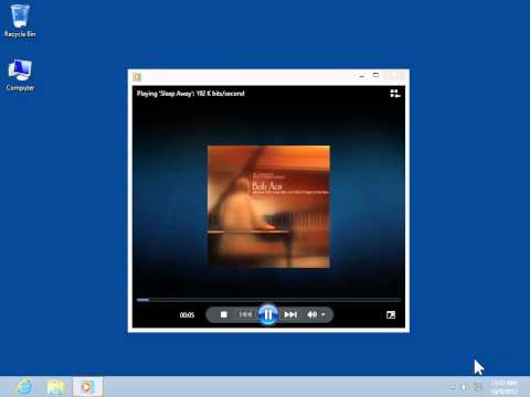 Windows 8.0 Professional - Turn On Crossfading In Windows Media Player