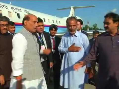 India's interior minister reaches Pakistan to attend SAARC meeting