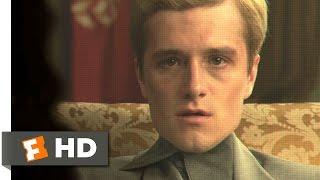 The Hunger Games: Mockingjay - Part 1 (8/10) Movie CLIP - Peeta Warns Katniss (2014) HD