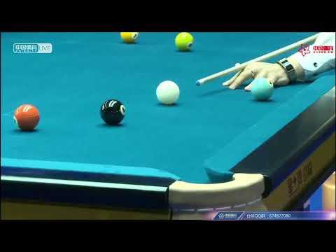 Chao Lumen VS Dai Erdan - Chinese Mens Qualifying - 2018 CBSA Chinese Pool World Championship