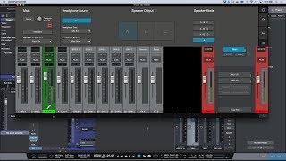 Studio 192 Mobile: Using The CUE Headphone Source Toggle Button