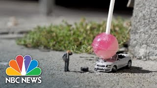 Artist Creates Miniature Dramas On London's Streets | NBC News