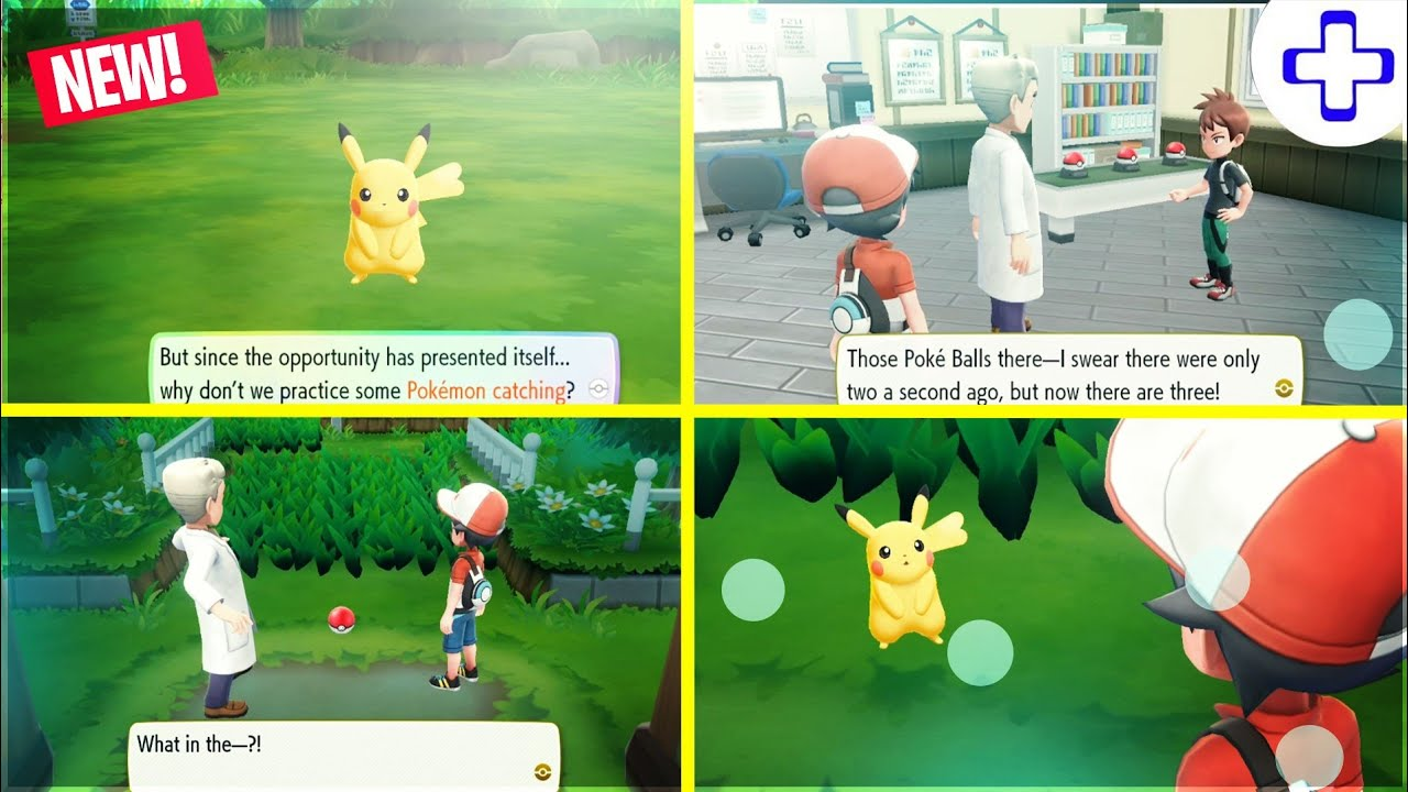 Pokemon Let's Go Pikachu On PC - New Update! (Text & Audio Fixed) with  Download Links!