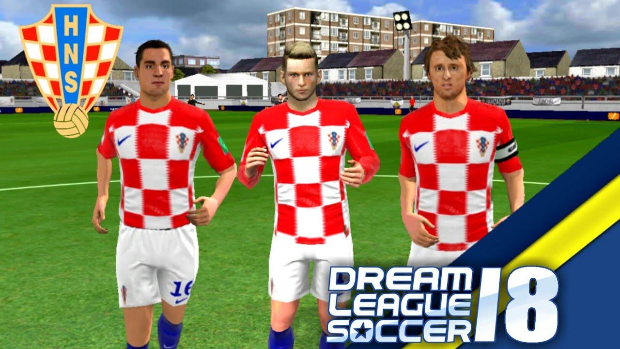 Create Croatia Team ☆ Kit Logo   Players ☆ Dream League Soccer 2018 7c383d407