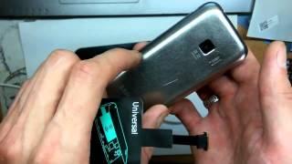 Обзор беспроводной зарядки для телефонов и планшетов.Wireless charger. Induction.