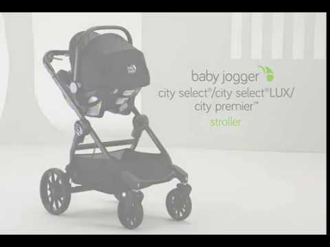 Attaching A Car Seat Adapter To The City Select City