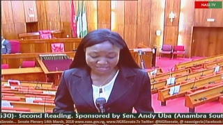 Senate Plenary, 14th March, 2018