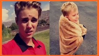Justin Bieber and Jaxon Bieber (Funny Moments)