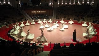 Whirling Dervishes, Mevlana Culture Center, Konya, Central Anatolia, Turkey, Asia