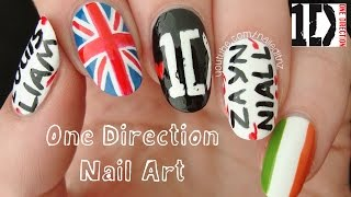 One Direction Nail Art | 1D Nails