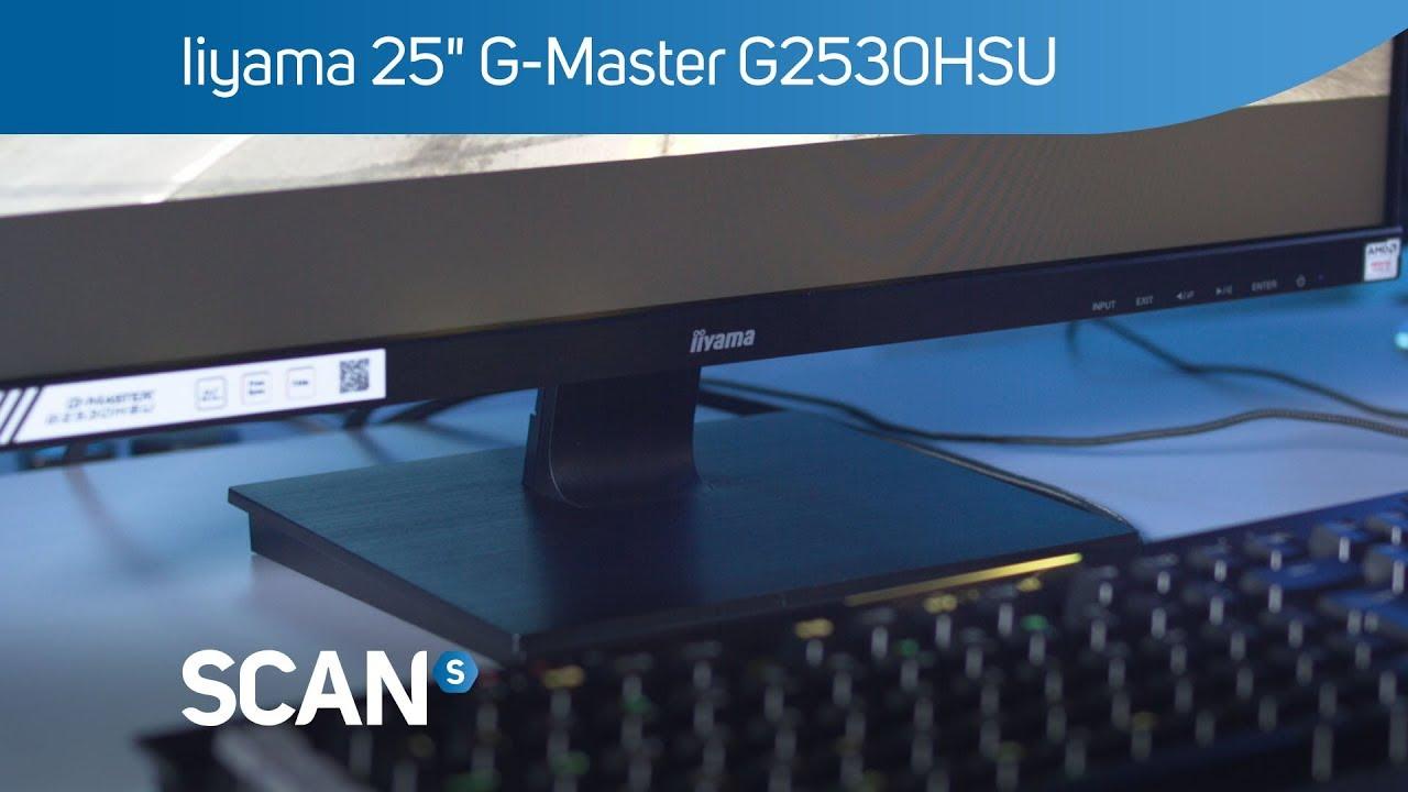 IIYAMA BLACK HAWK G2530HSU Freesync Gaming Monitor - Overview