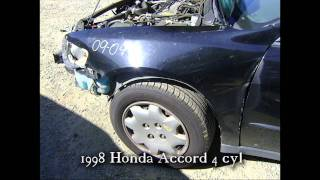1998 Honda Accord parts AUTO WRECKERS RECYCLERS anhdonline.com Acura used