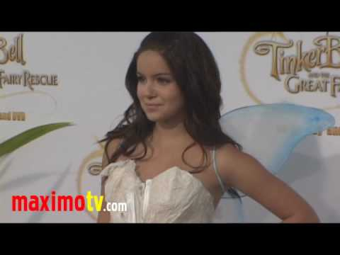 """ARIEL WINTER Interview at  """"Tinker Bell And The Great Fairy Rescue"""" Premiere"""