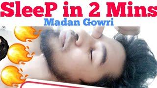 5 Steps to Sleep in 2 Mins | Tamil | Madan Gowri | MG