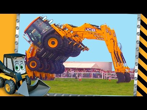 Dancing Diggers Video For Children | JCB Diggers