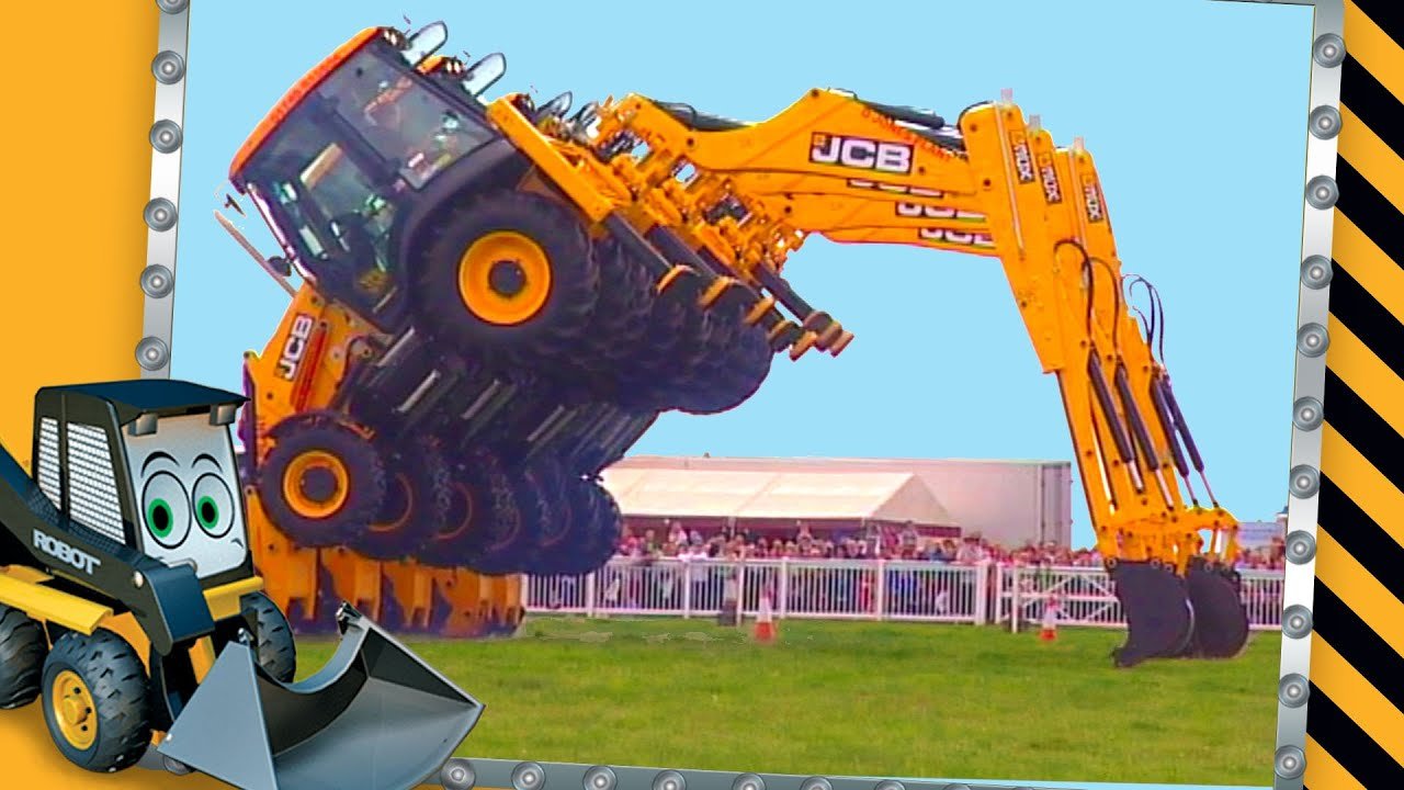 Dancing Diggers Video For Children Jcb Diggers