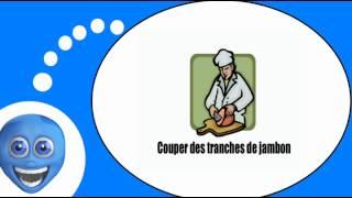 Французского видео урок = Кухня и приготовление пищи #Глаголы # 1