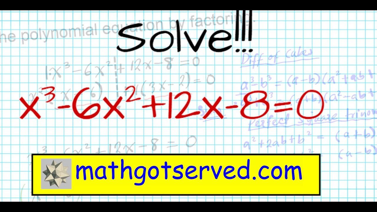 How To Solve Higher Degree Polynomials 4 Terms Factoring Algebra 2mon  Core Al2hu3l5 Real Roots