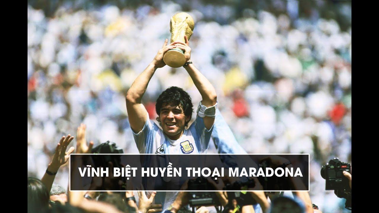 Tiểu sử về Diego Maradona: Huyền thoại bóng đá thế giới để lại sự nuối tiếc vô tận cho người hâm mộ