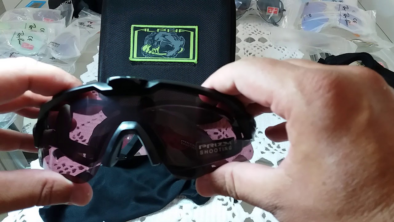 20df81f484 Oculos OAKLEY SI M Ballistic ALPHA OPERATOR Kit + Case Square - detalhes e  troca de lentes