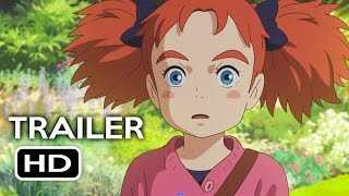 Mary and the Witch's Flower Trailer #1 (2017) Animated Movie HD