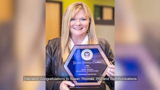USDB's PIO & Communications Director Susan Thomas Received the Governor's Award for Excellence!