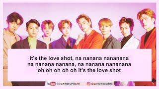 [Karaoke/Instrumental] EXO - LOVE SHOT by GOMAWO