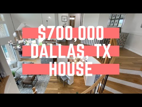 What Does A $700k House Look Like In Dallas, TX (Grand Homes)