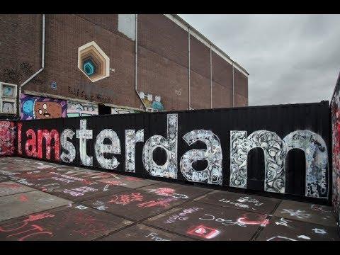 AMSTERDAM Streets - Art Graffiti
