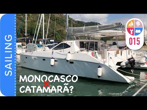 15   Veleiro Monocasco ou Catamarã ? Papo com o Velejador Helio Magalhães - Sailing Around the World