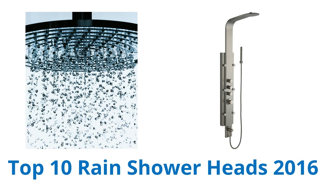 10 Best Rain Shower Heads 2016 YouTube