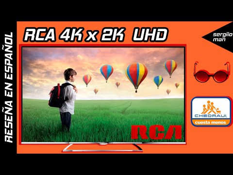 Review RCA 4K x 2K Pantalla Ultra HD Económica